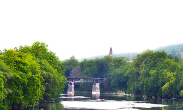 Schuylkill Art Print featuring the photograph Schuylkill River At Manayunk Philadelphia by Bill Cannon