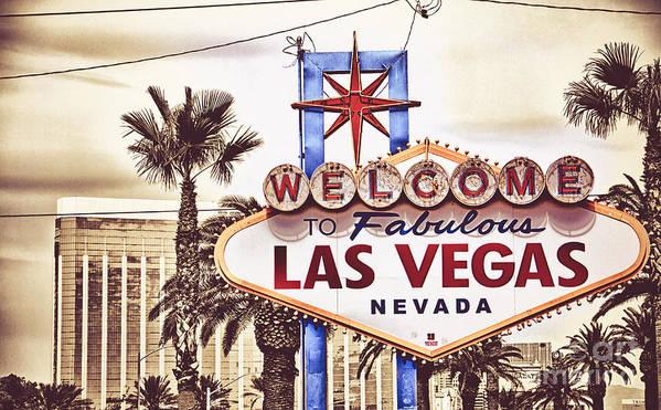 Las Vegas Art Print featuring the photograph Las Vegas by Mike Ricci