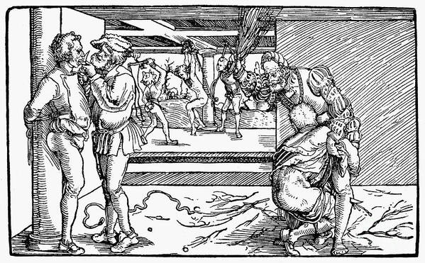 Medieval Torture Art Print