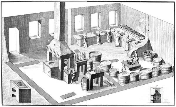 18th Century Art Print featuring the photograph Metalworker, 18th Century by Granger