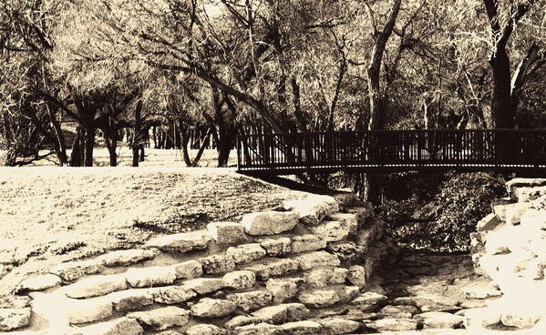 Bridge Art Print featuring the photograph Old Timer by Judge Howell