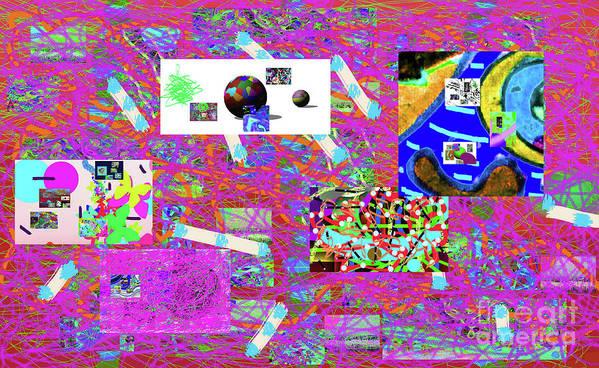 Walter Paul Bebirian Art Print featuring the digital art 5-3-2015gabcdefghij by Walter Paul Bebirian