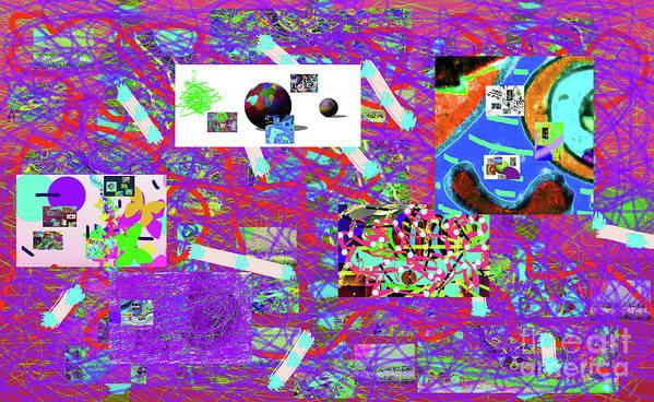 Walter Paul Bebirian Art Print featuring the digital art 5-3-2015gabcdefghijkl by Walter Paul Bebirian