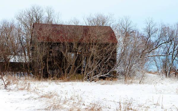Markham Art Print featuring the photograph Abandoned Barn by Gary Chapple