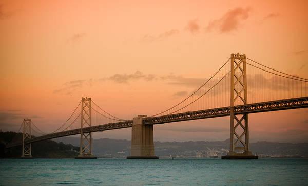 Bay Bridge Art Print featuring the photograph Bay Bridge by Mandy Wiltse