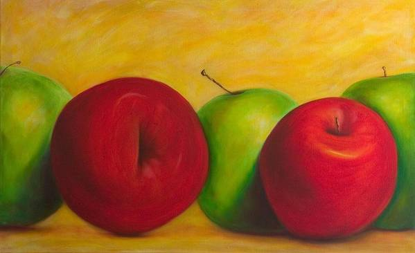 Still Life Art Print featuring the painting Cancan by Shannon Grissom