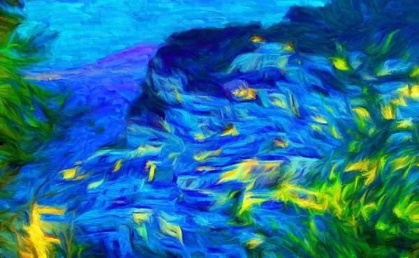 Capri on Canvas