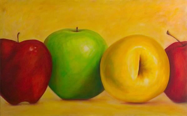 Still Life Art Print featuring the painting Chorus Line by Shannon Grissom