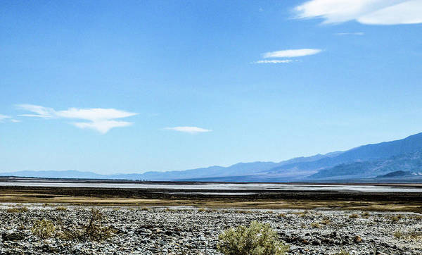 This Is A Photo Of Death Valley In California Art Print featuring the photograph Death Valley California by William Rogers