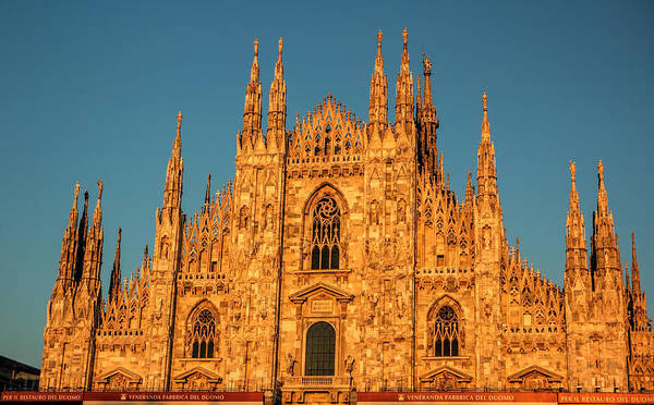 Milan Art Print featuring the photograph Duomo Di Milano by Ginger Wakem