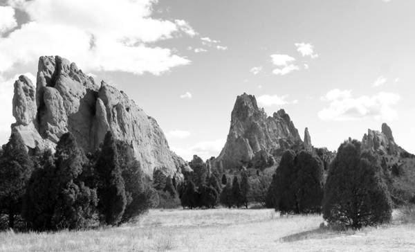 Garden Of The Gods Art Print featuring the photograph Garden Of The Gods by Rhonda DePalma