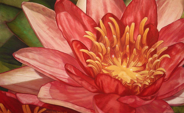 Botanical Art Print featuring the painting Glorious by Melissa Tobia