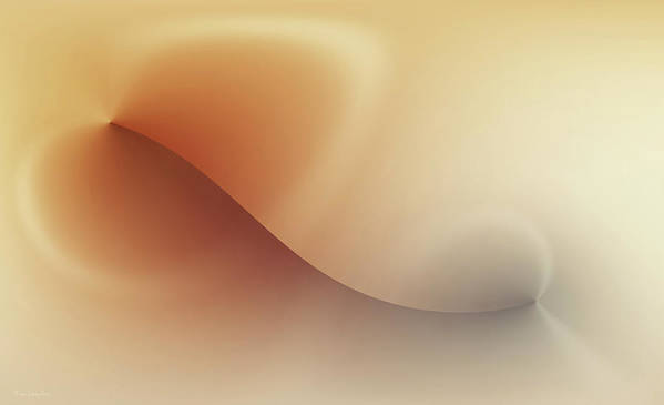 Abstract Art Print featuring the digital art Incision by Wim Lanclus