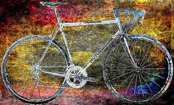 Bicycle Art Print featuring the photograph Le Champion by Julie Niemela