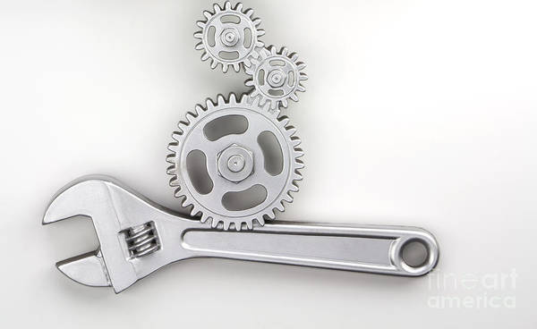 Wrench Art Print featuring the photograph Wrench by Blink Images