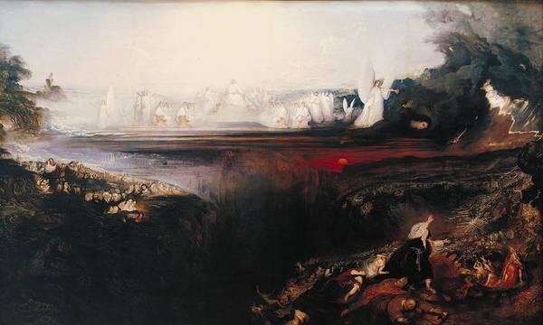 John Martin Art Print featuring the painting The Last Judgement by John Martin