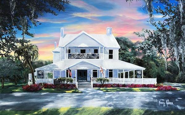 The White House at Zellwood Station by Nancy Raborn