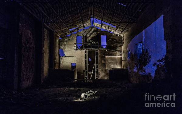 Art Print featuring the photograph Blue by Eugenio Moya