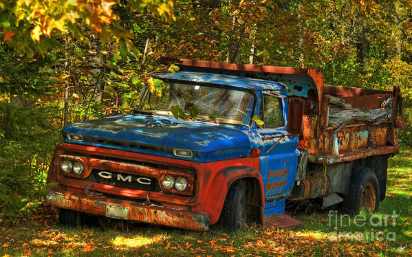 Hdr Art Print featuring the photograph Done Hauling by Alana Ranney