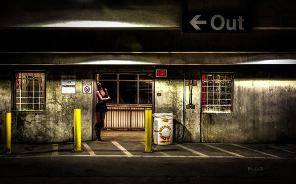 Night Art Print featuring the photograph Hot Summer Night Out by Bob Orsillo