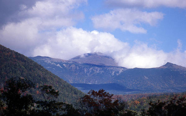 Mountain Print featuring the photograph Mount Washington by Skip Willits