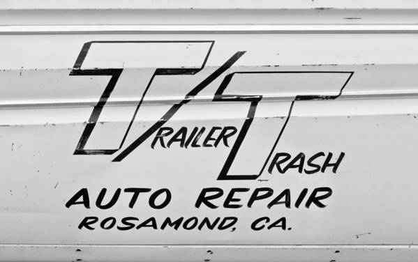 Auto Repair Art Print featuring the photograph Trailer Trash by Phil 'motography' Clark
