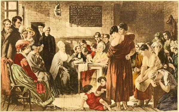 History Print featuring the photograph Elizabeth Fry 1780-1845 Was An English by Everett