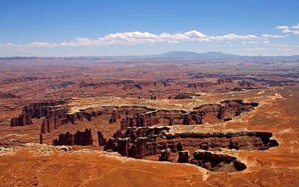 Canyonlands National Park Art Print featuring the photograph Fingers by Sharon I Williams