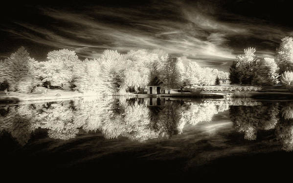 Landscape Art Print featuring the photograph Memories by George Saad