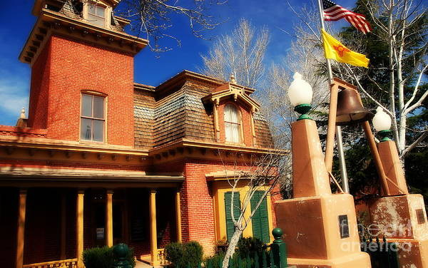 Museum Art Print featuring the photograph Museum In Silver City Nm by Susanne Van Hulst