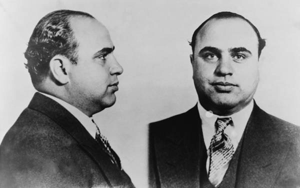 History Art Print featuring the photograph Al Capone 1899-1847, Prohibition Era by Everett