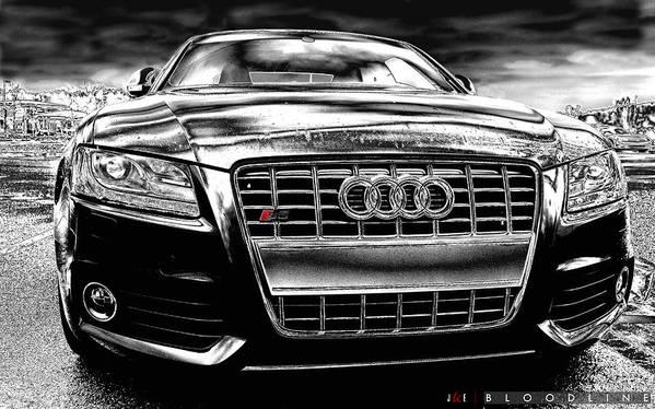 Audi Art Print featuring the photograph Bloodline by Jonathan Ellis Keys