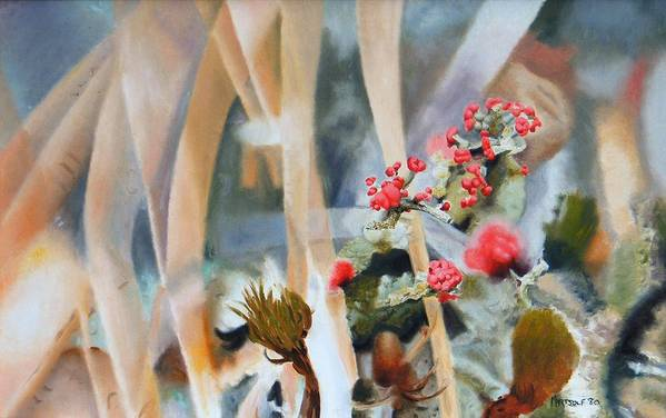 Nature Art Print featuring the painting British Soldiers by Dave Martsolf