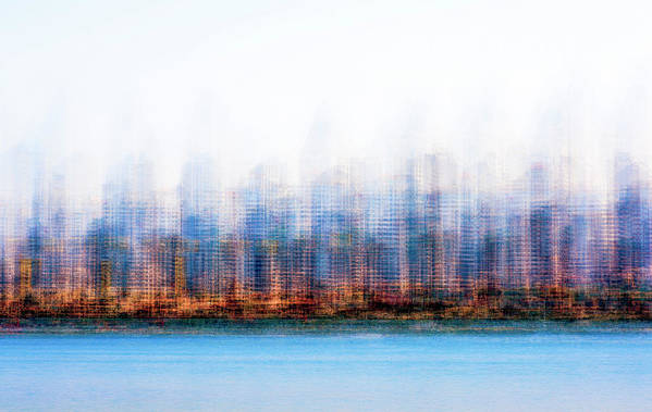 Skyline Art Print featuring the photograph Can You Name The Skyline by Joseph S Giacalone