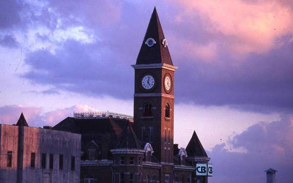 Art Print featuring the photograph Fayetteville Courthouse by Curtis J Neeley Jr
