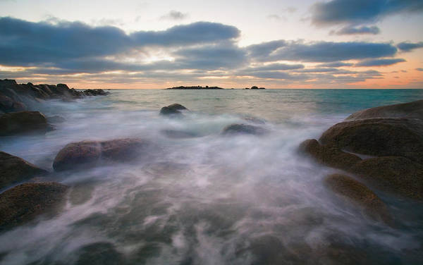 Tides Art Print featuring the photograph Ghost Tides by Mike Dawson