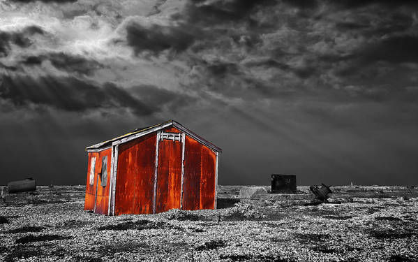 Corrosion Print featuring the photograph Rusting Away by Meirion Matthias