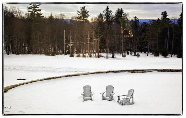 Berkshires Art Print featuring the photograph Berkshires Winter 3 - Massachusetts by Madeline Ellis