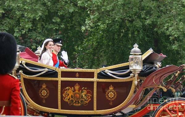 Royal Wedding Art Print featuring the photograph Royal Wedding by Mariusz Czajkowski