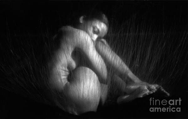Nude Art Print featuring the photograph Sas 1 by Tony Cordoza