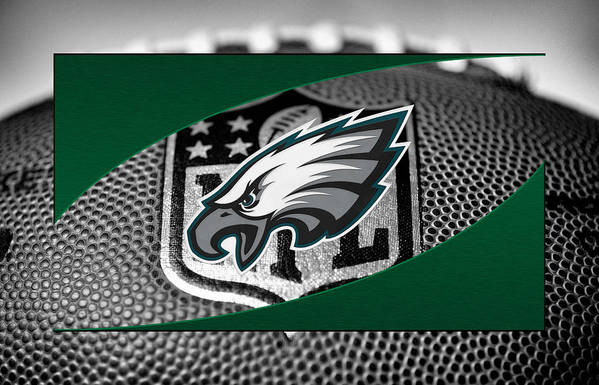 Eagles Art Print featuring the photograph Philadelphia Eagles by Joe Hamilton