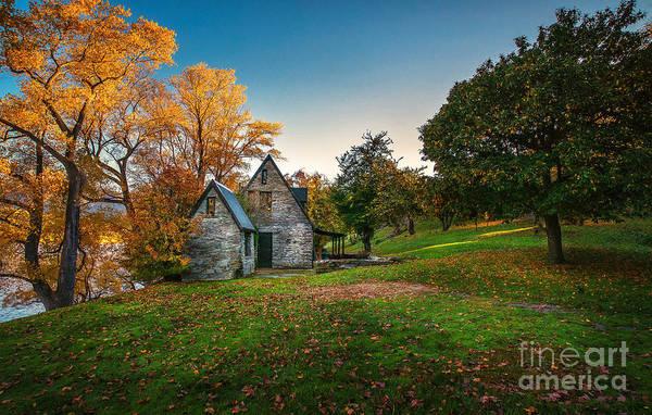 Autumn Art Print featuring the photograph Autumn Bliss by Michael Schurmann