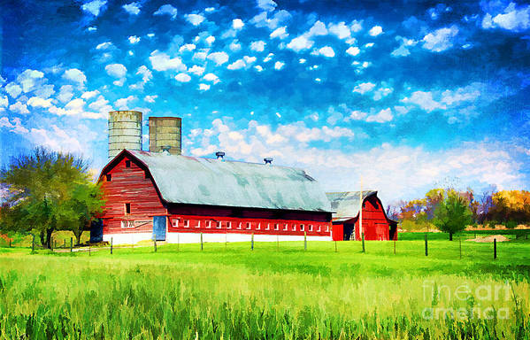 Agricultural Print featuring the photograph Bardstown Kentucky by Darren Fisher