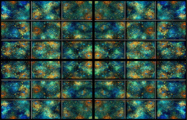 Star Print featuring the digital art Limitless Night Sky by Betsy Knapp