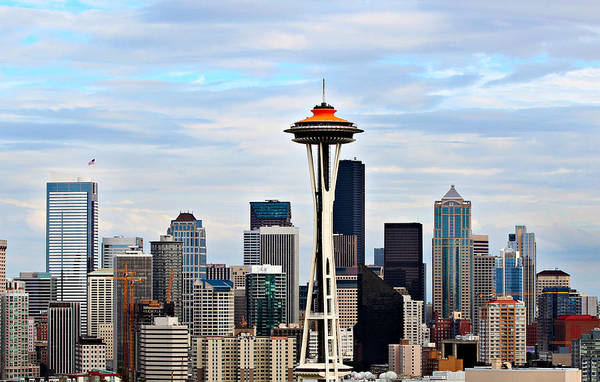 America Art Print featuring the photograph Seattle by Paul Fell