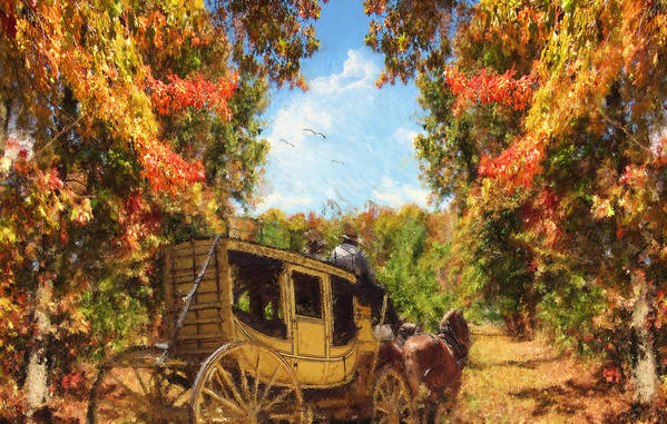 Autumn Art Print featuring the photograph Autumn's Essence by Lourry Legarde