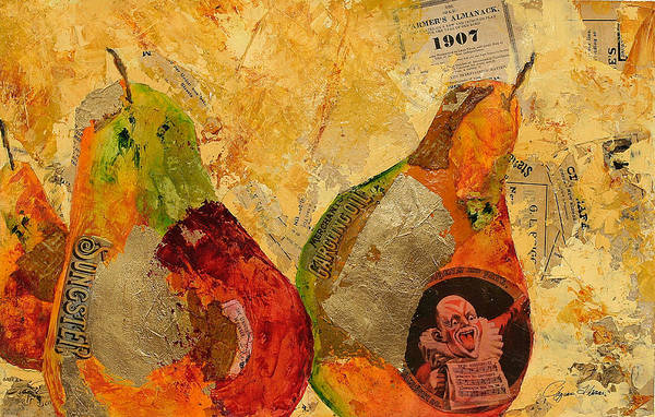 Collage Art Print featuring the mixed media Dream And Fate by Regina Thomas