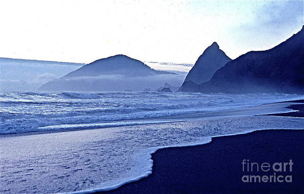 Nature Art Print featuring the photograph Humbug Mountain In Twilight by Sean Griffin