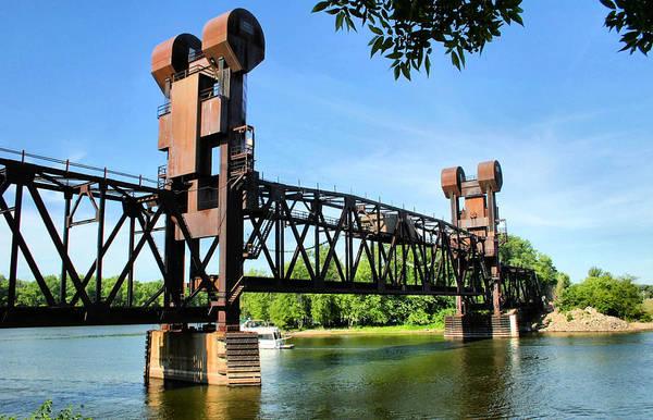 Prescott Art Print featuring the photograph Prescott Lift Bridge by Kristin Elmquist
