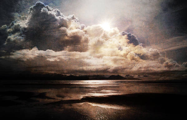 Clouds Art Print featuring the photograph Seaside Cloudscape by Michele Cornelius